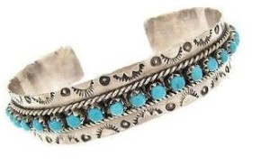 Photo of a Turquoise Cuff Bracelet